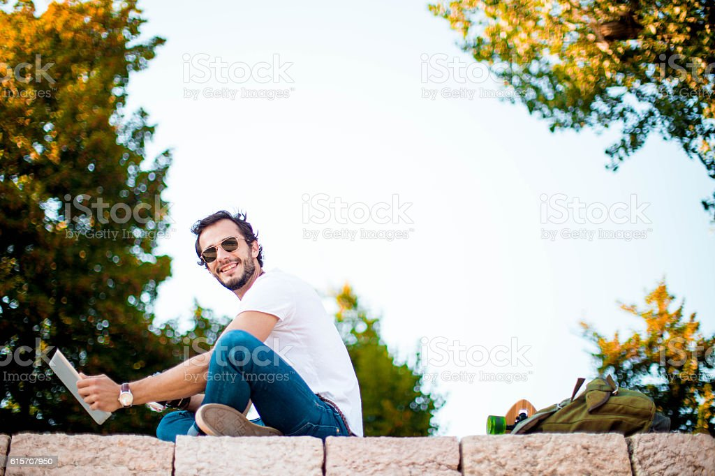 Be online everywhere stock photo