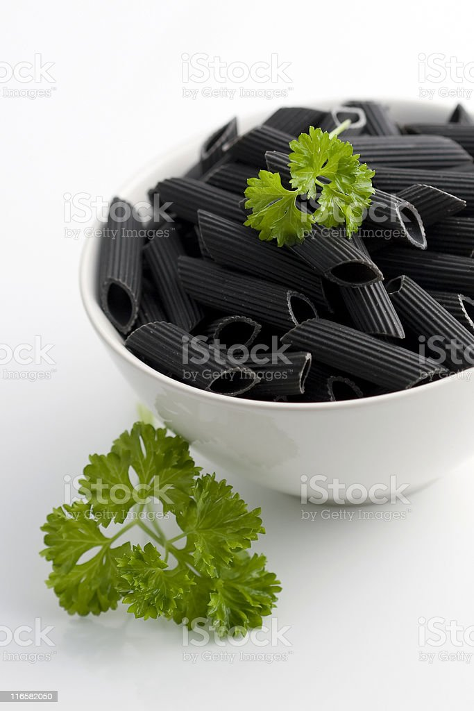 Sea pasta royalty-free stock photo