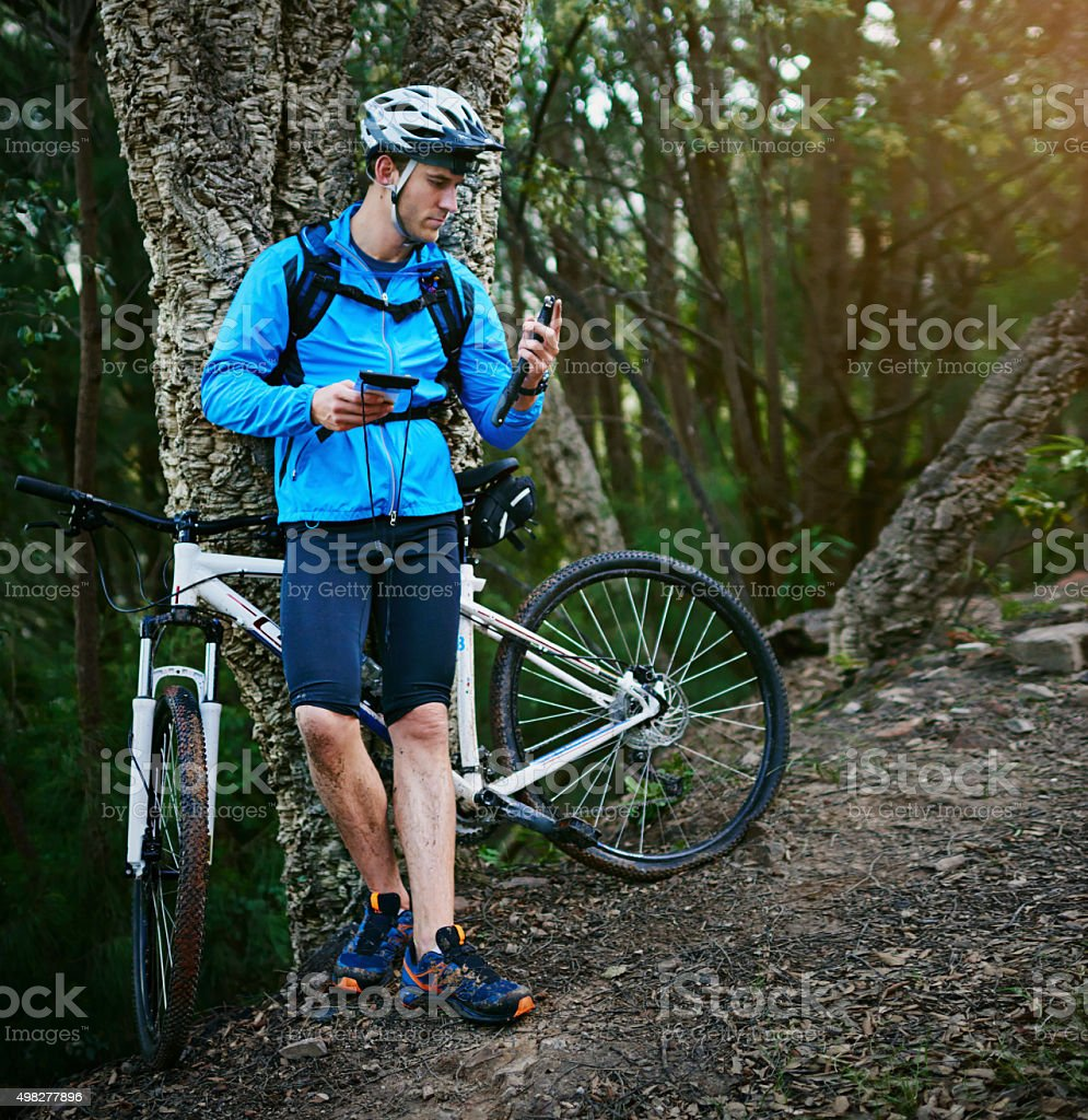 Be prepared for anything stock photo