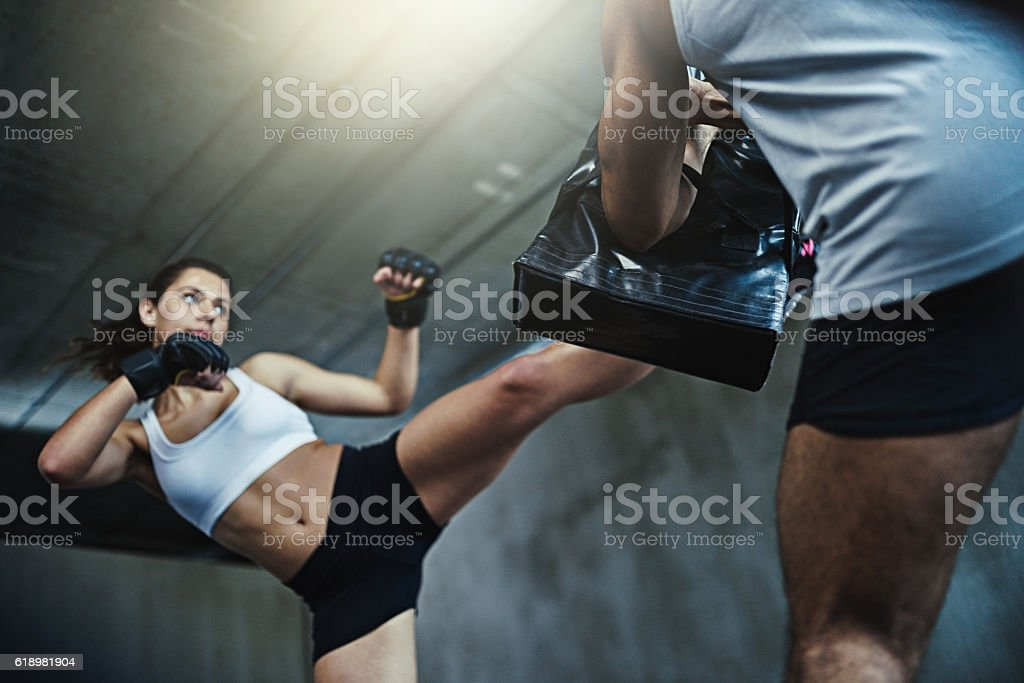 Be prepared for whatever life throws at you stock photo