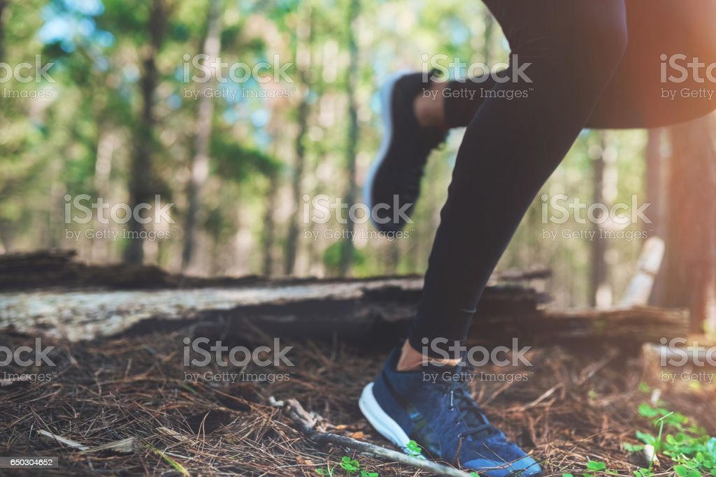 Be proud of every step you take stock photo