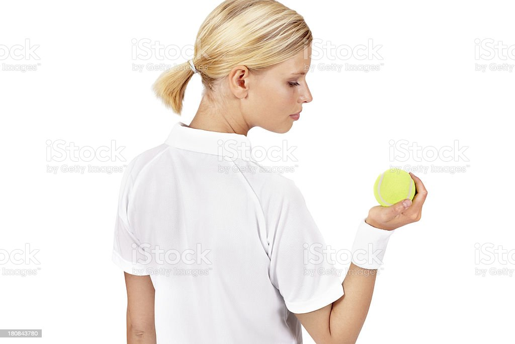 Be the ball... royalty-free stock photo