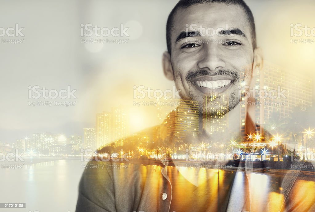 Be where you want to be stock photo