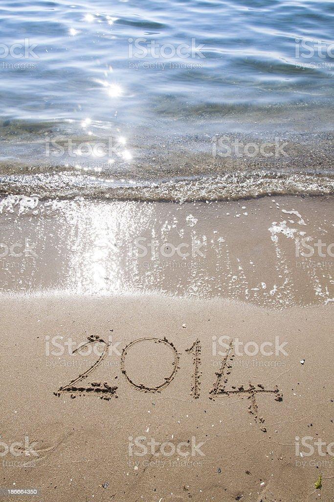 beach - 2014 royalty-free stock photo