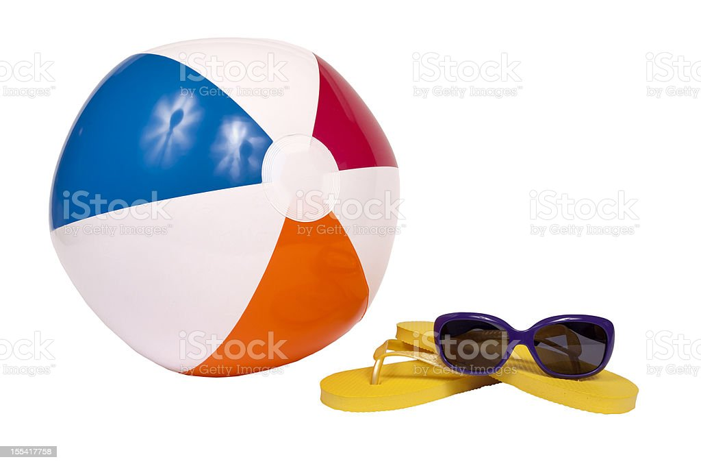 Beach Accessories royalty-free stock photo