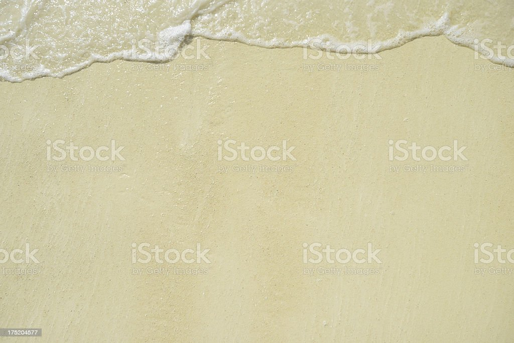 Beach and Sand Background royalty-free stock photo