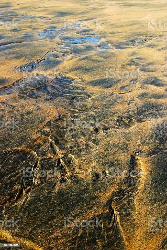 Beach and sand royalty-free stock photo