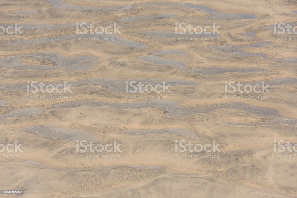 Beach and Water Pattern stock photo