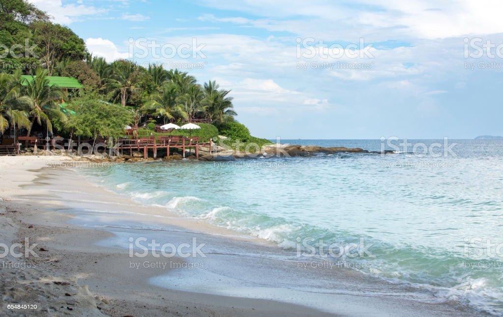 Beach at Koh Samed island, Thailand stock photo