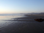 Beach at Morro Bay at Dusk