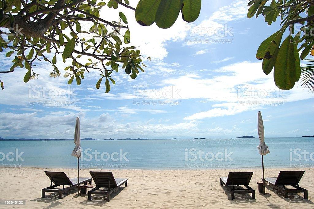 Beach at Samet royalty-free stock photo