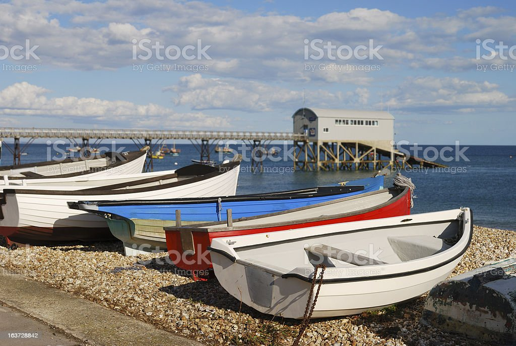 Beach at Selsey. West Sussex. England royalty-free stock photo