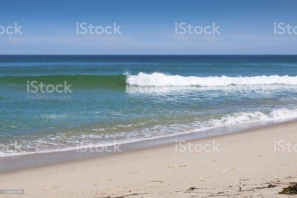 Beach at Truro, Cape Cod, Massachusetts, USA. royalty-free stock photo