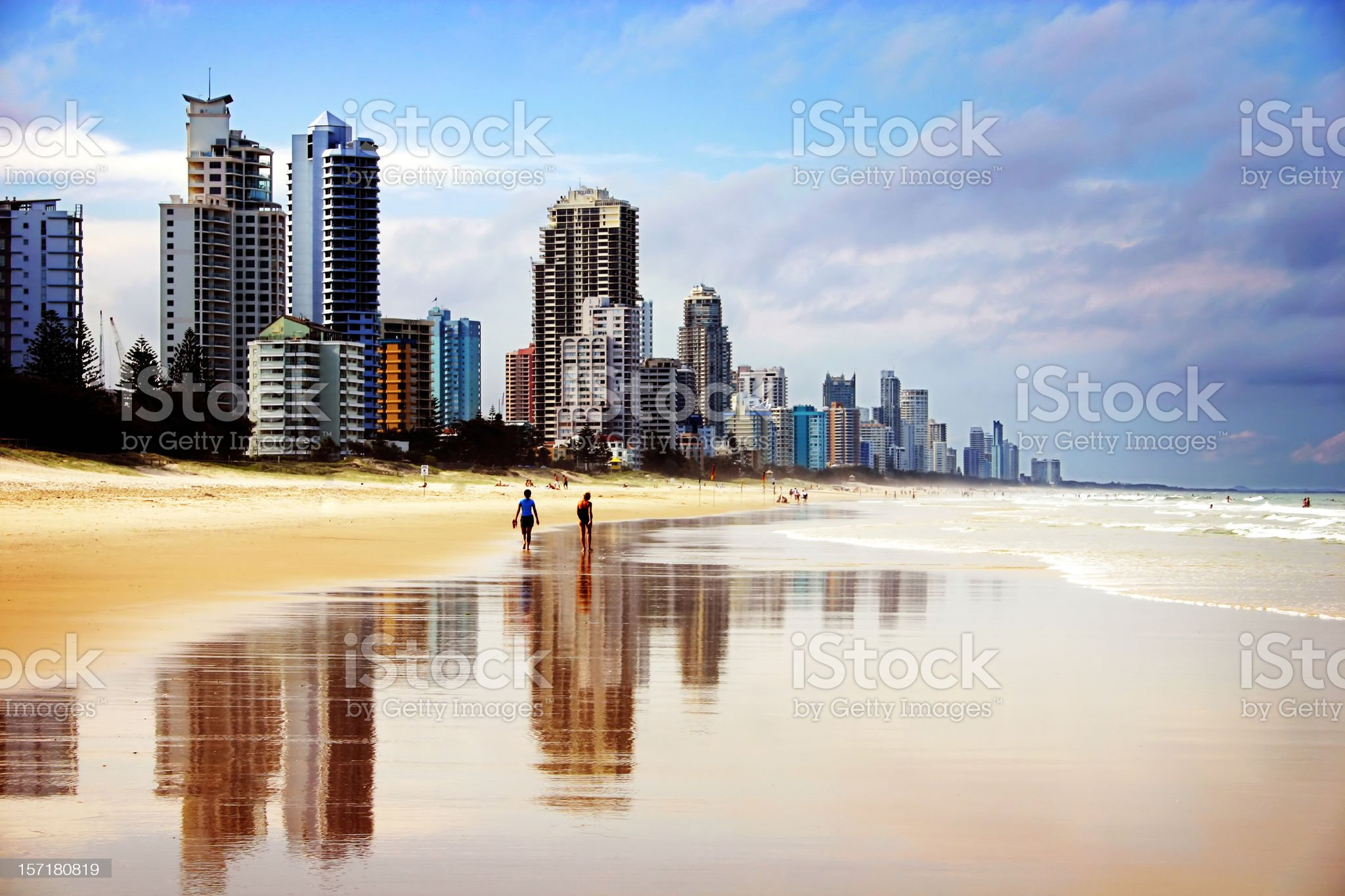 Beach at your Doorstep royalty-free stock photo