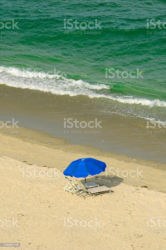 Beach - Atlantic Ocean royalty-free stock photo