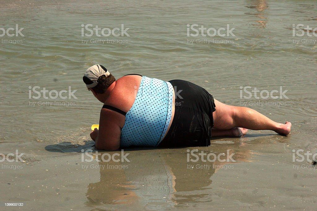 Beach Babe 2 royalty-free stock photo