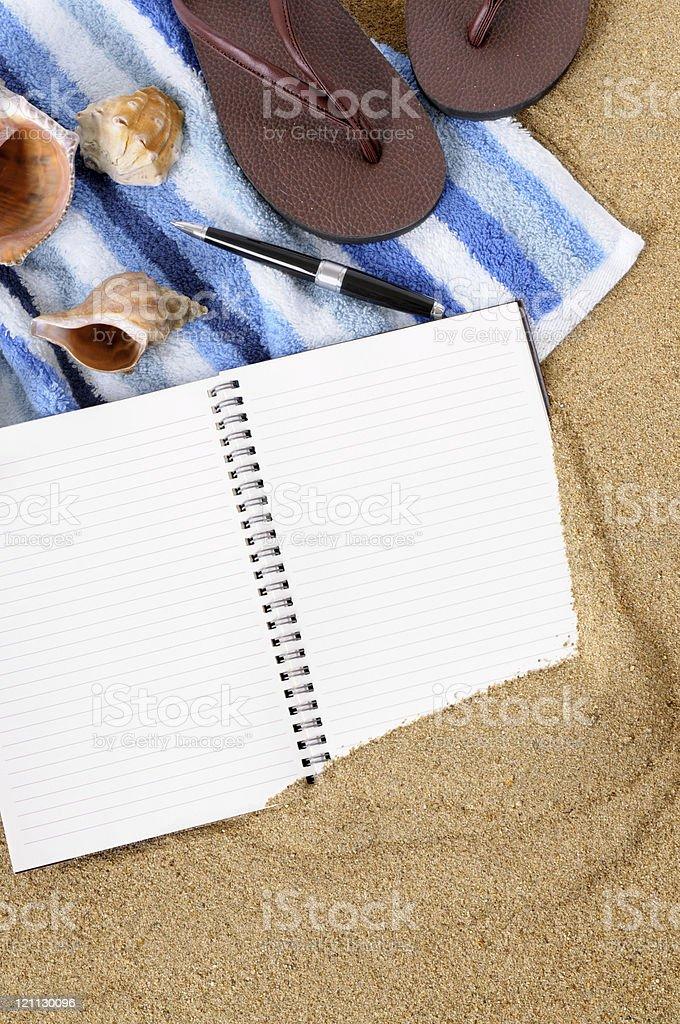 Beach background royalty-free stock photo