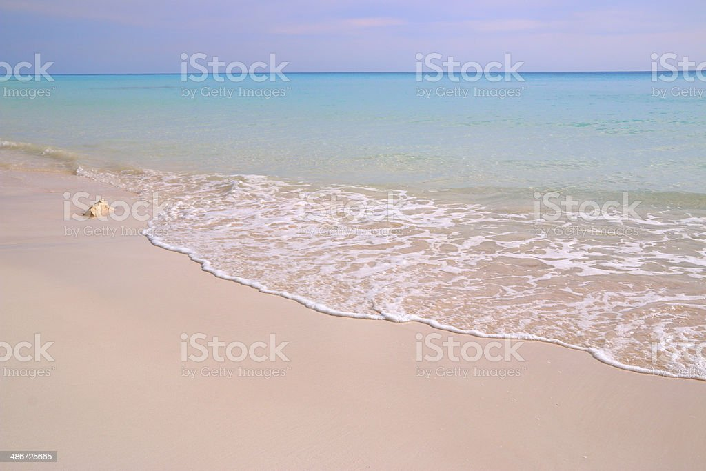 Beach Background stock photo