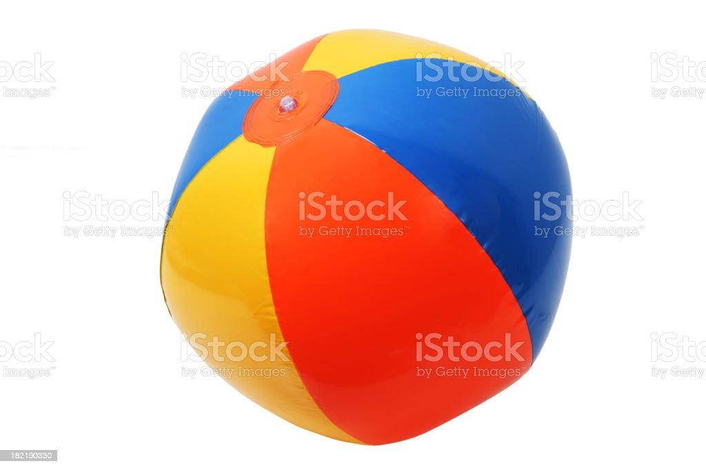 Beach Ball in XXXL royalty-free stock photo