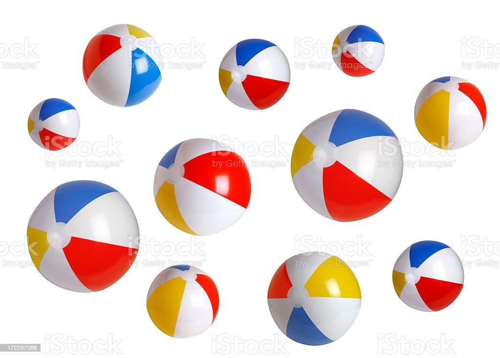Beach ball Series (background) royalty-free stock photo