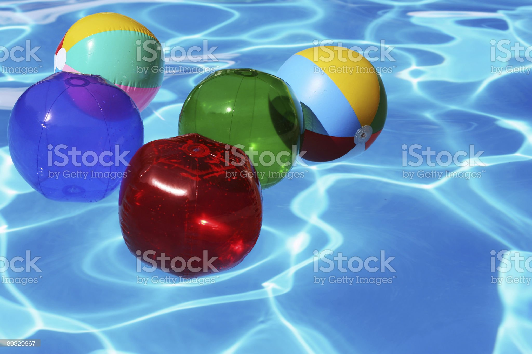 Beach Balls royalty-free stock photo