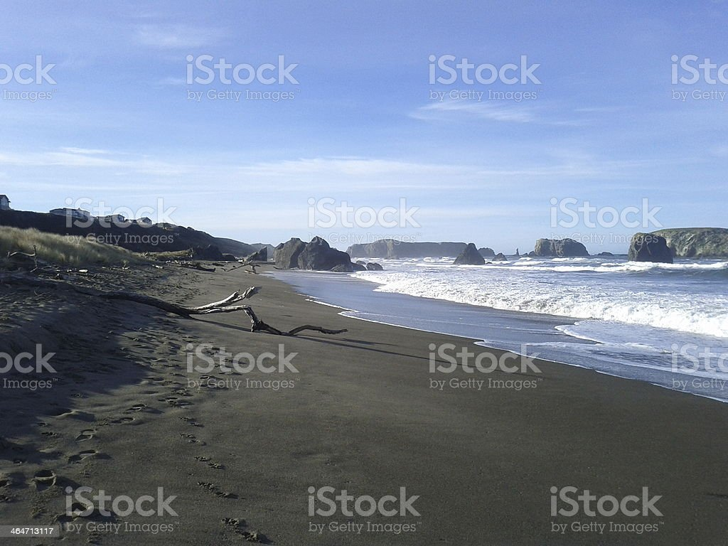 Beach, Bandon, Oregon stock photo