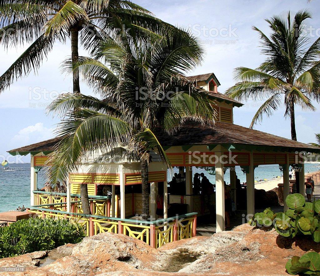 Beach Bar royalty-free stock photo
