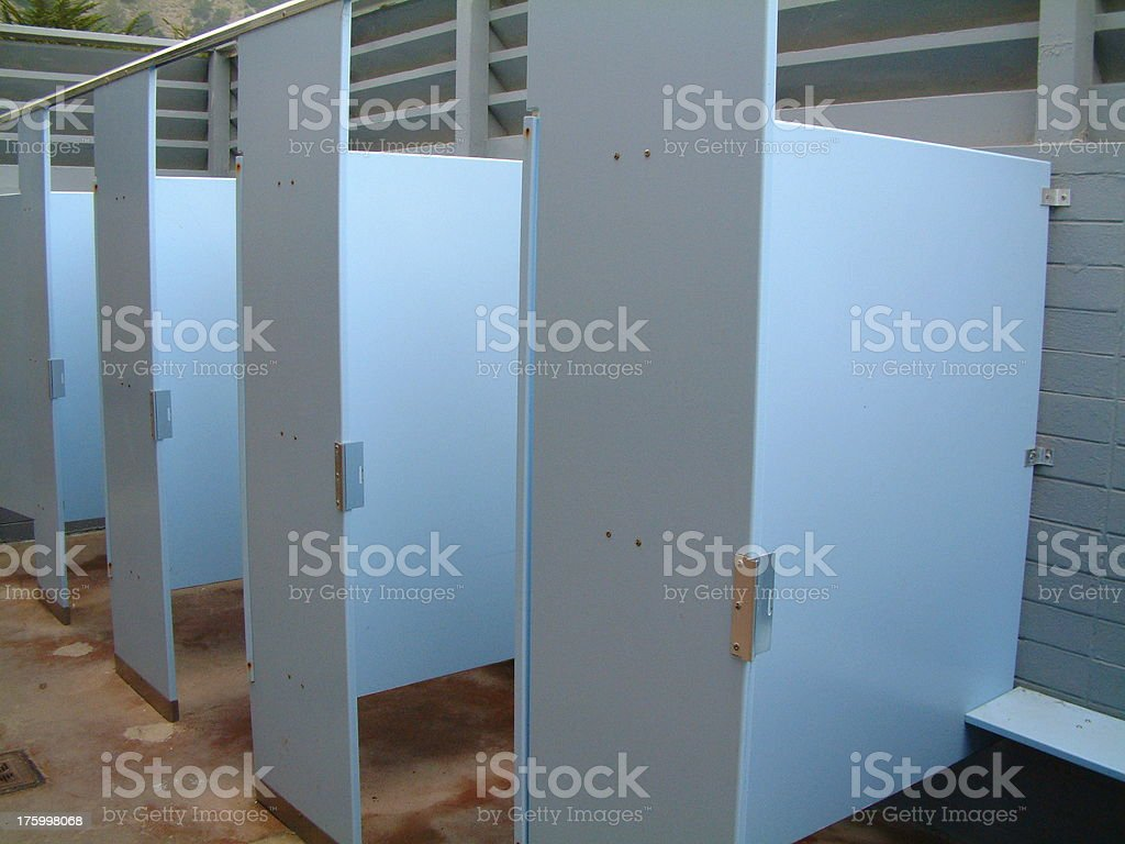 beach bathroom royalty-free stock photo