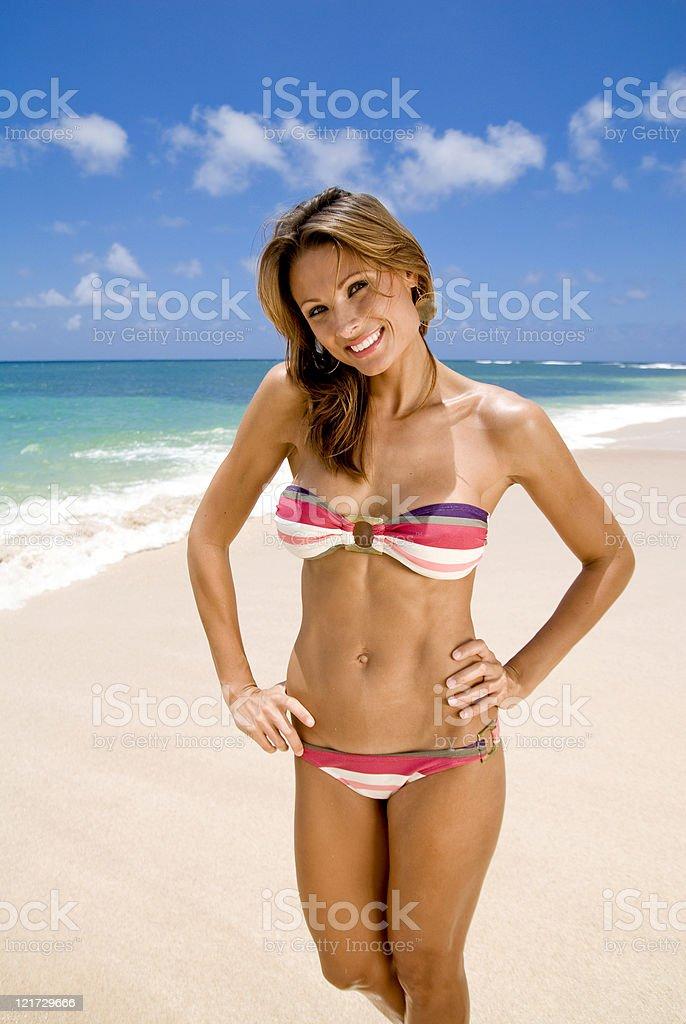Beach Beauty royalty-free stock photo