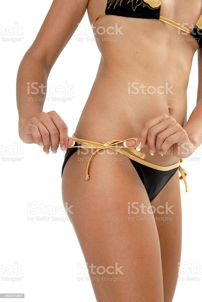 Beach Bikini royalty-free stock photo