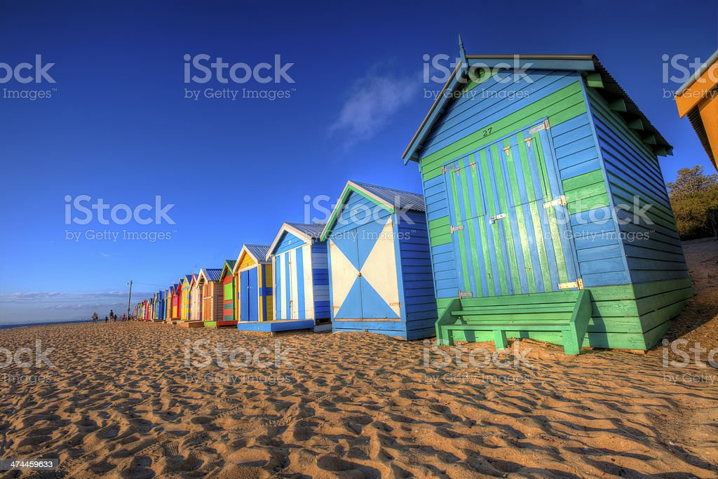 Beach Box stock photo
