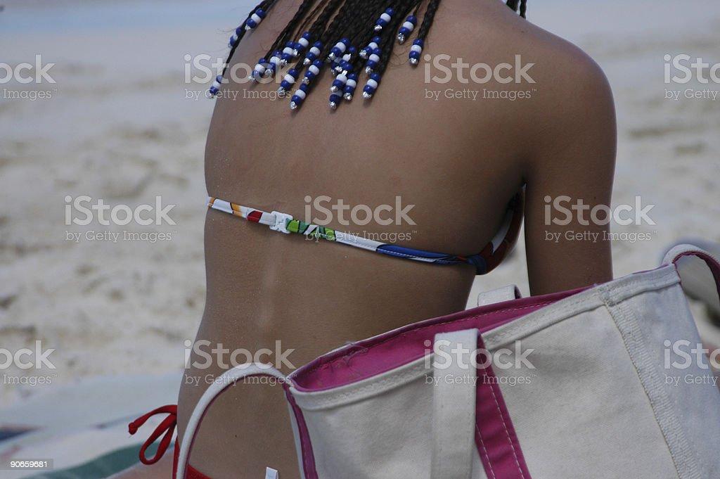 Beach Buns royalty-free stock photo