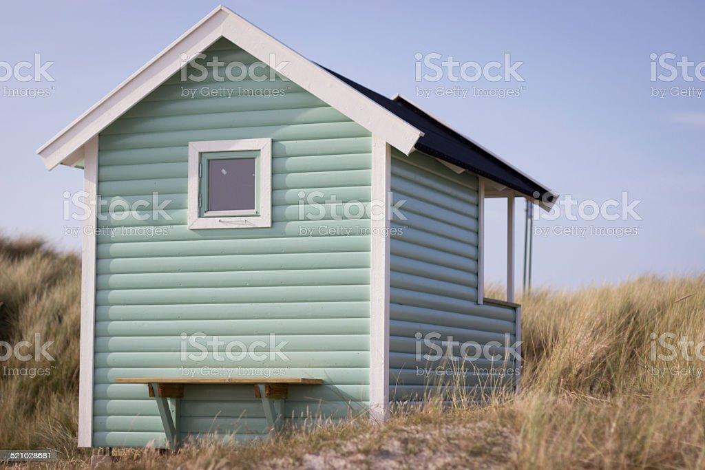 Beach Cabana stock photo