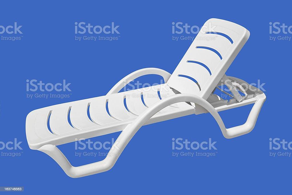 Beach chair royalty-free stock photo