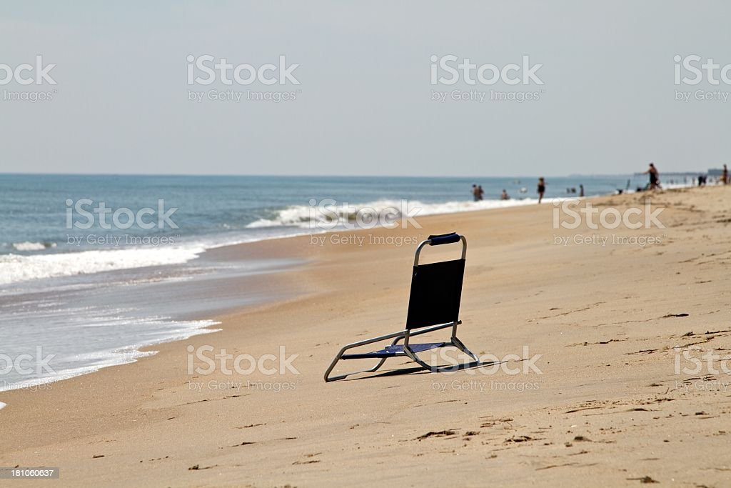 Beach Chair royalty-free stock photo