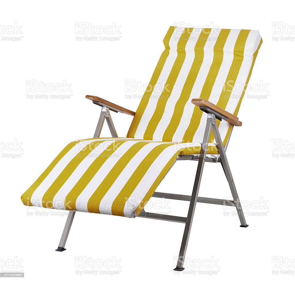 Beach Chair (Click for more) stock photo