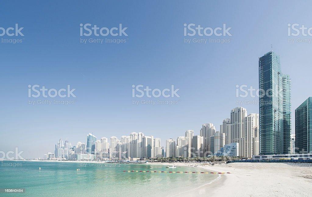 Beach Cityscape royalty-free stock photo