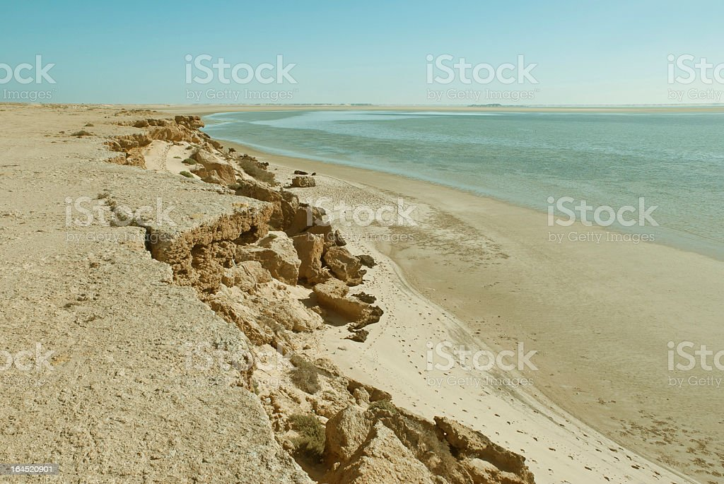 Beach Cliff royalty-free stock photo