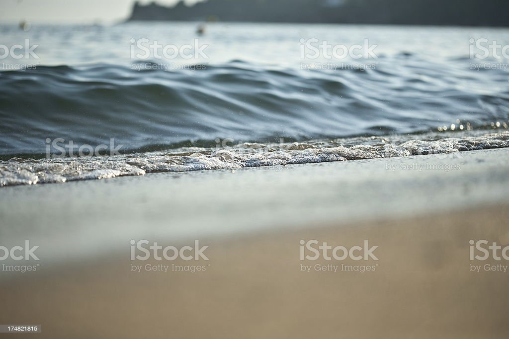 Beach, close up royalty-free stock photo
