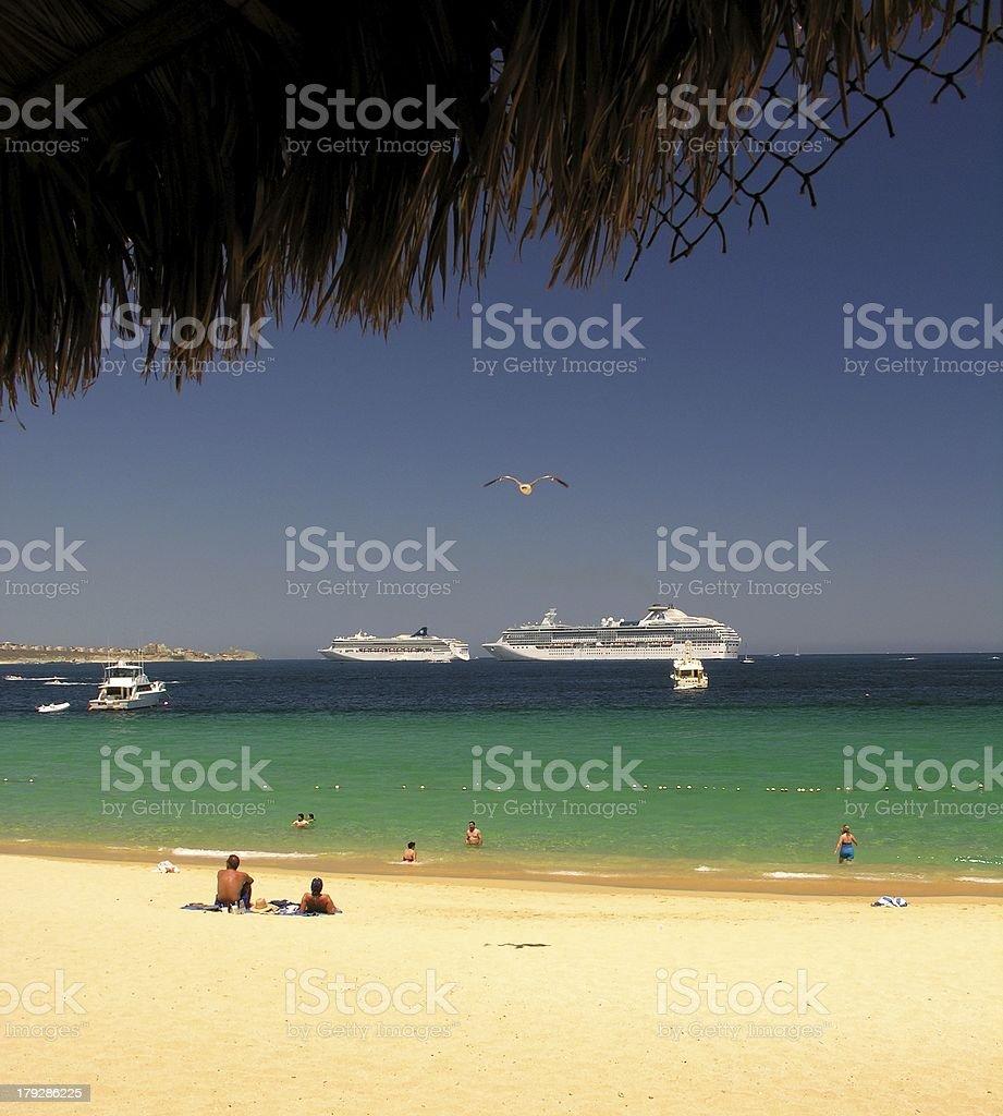 Beach Club No.3 royalty-free stock photo
