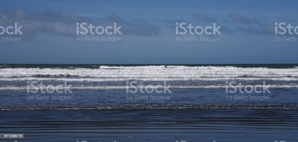Beach & Coastal Scene stock photo