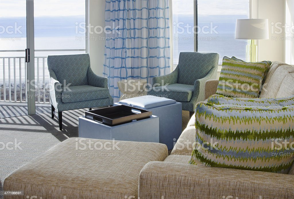 Beach Condominium stock photo