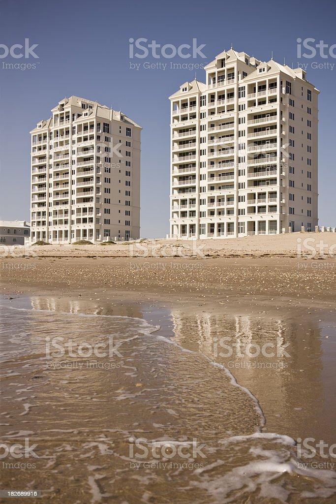 Beach Condos stock photo
