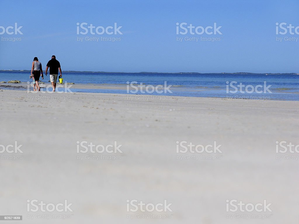 Beach Couple royalty-free stock photo