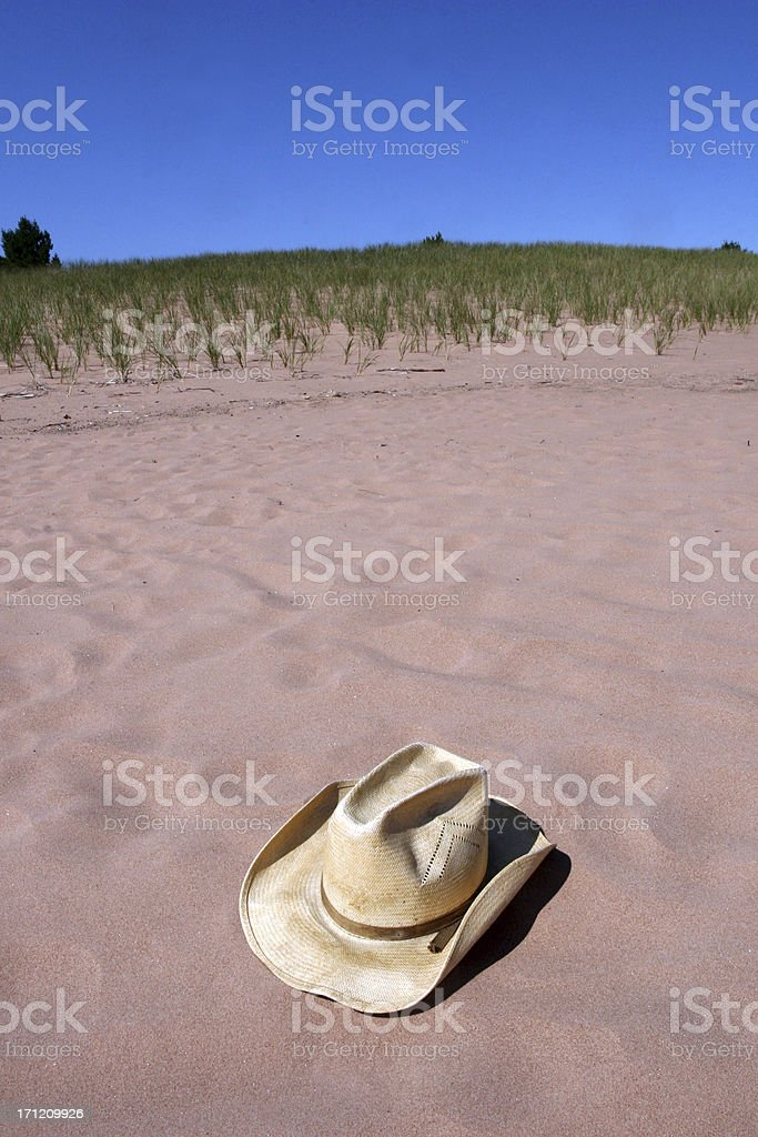 Beach Cowboy royalty-free stock photo