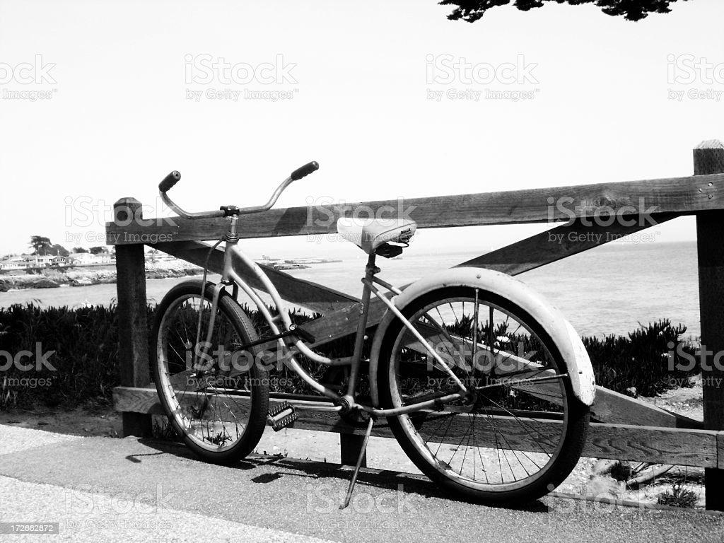 Beach Cruiser royalty-free stock photo