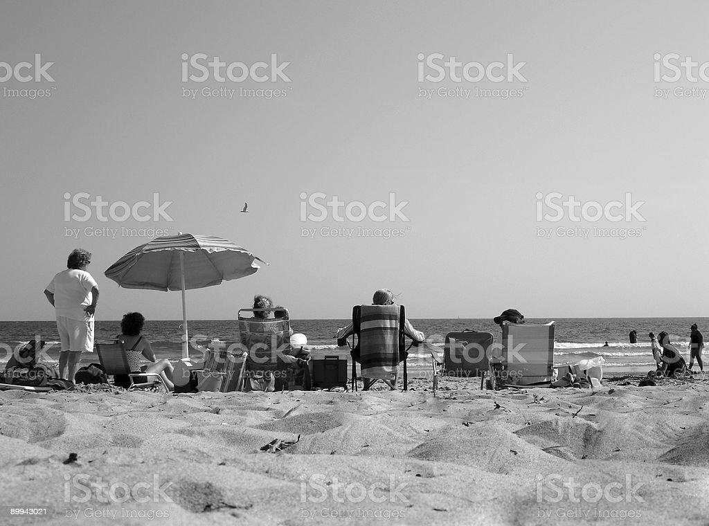 Beach Day royalty-free stock photo