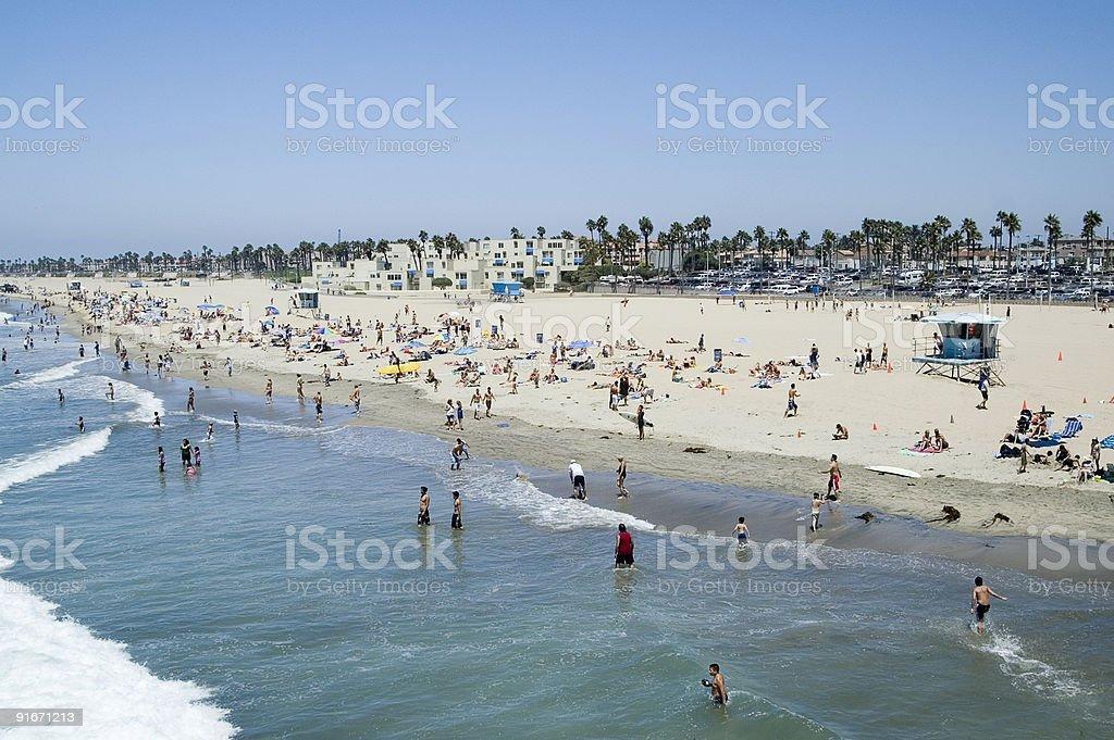 Beach Daytime stock photo