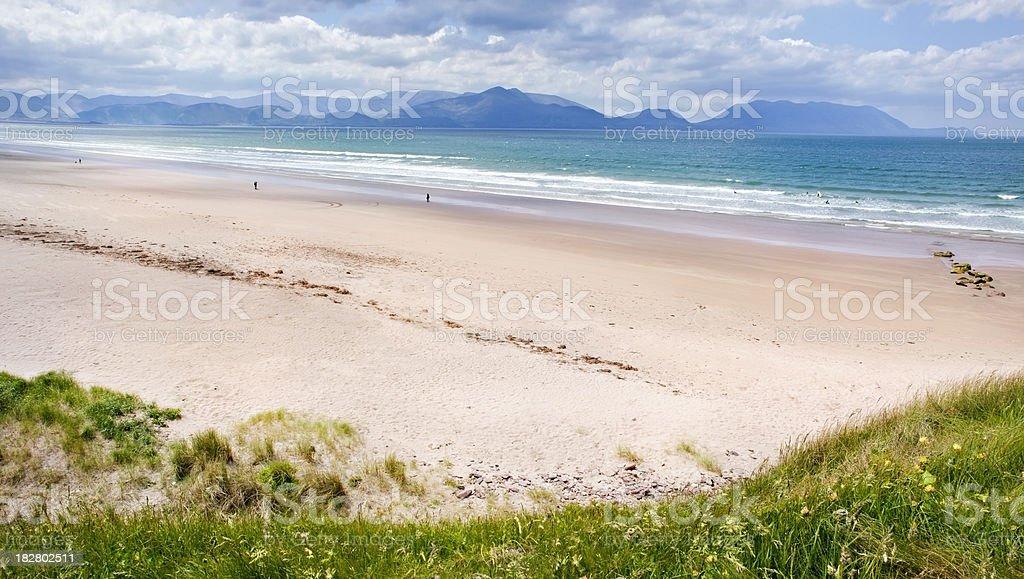 Beach, Dingle Peninsula, Ireland stock photo