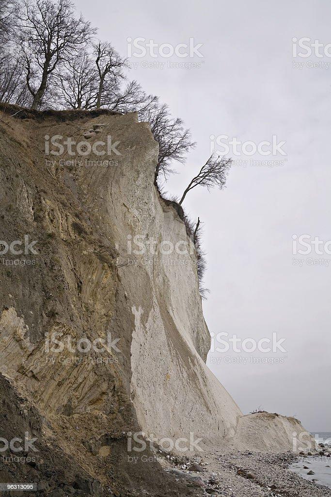 beach erosion royalty-free stock photo